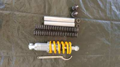 Genuine OHLINS front and rear suspension upgrade!