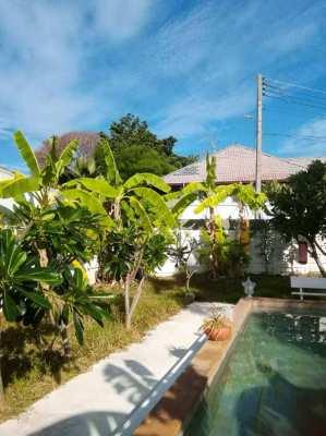 Rent buy option 2 pool villas,a Twe bedroom plus a one bedroom villa