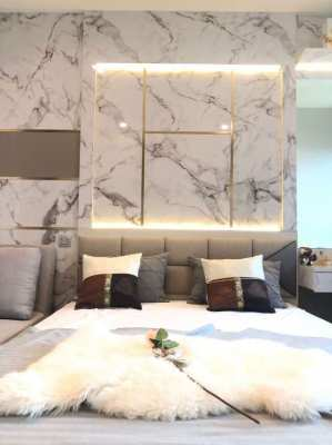 New Condo for rent Life Sukhumvit 62 - High floor with river view