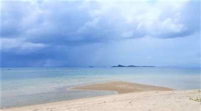 Beachfront land 1600 sqm in Bang Kao Koh Samui for sale