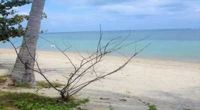 For sale sea view land in Laem Sor Koh Samui 50 m from the beach