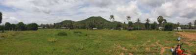 Pak Nam Pran, Land for sale in beautiful location near Pranburi beach