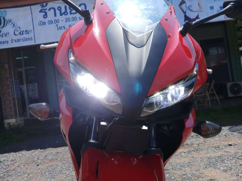 IF you want to travel cost effect and FAST way, 2016 Honda CBR 500R 4U