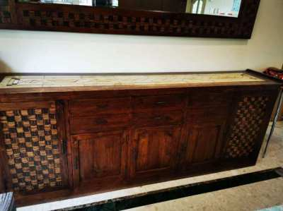 Sideboard and Mirror - Reduced to Sell