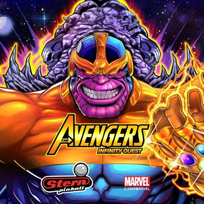 New Avengers: Infinity Quest Stern pinball