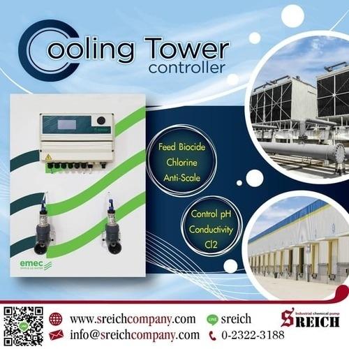 ปั๊มเติมน้ำยาตะกรัน โดสสารละลาย สำหรับ Cooling Tower