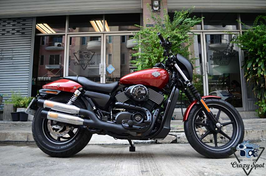 HD Street 750 2015 Wicked RED