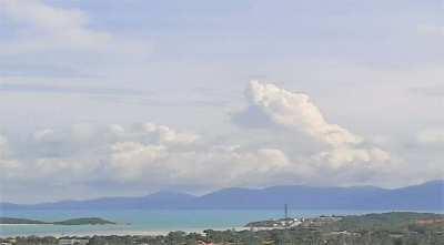 For sale sea view land 848 sqm in Plai Laem Koh Samui