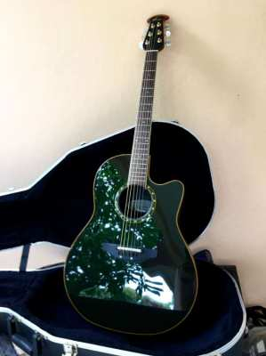 NEW; Ovation Celebrity CDX24 Acoustic-Electric Guitar w/ genuine case