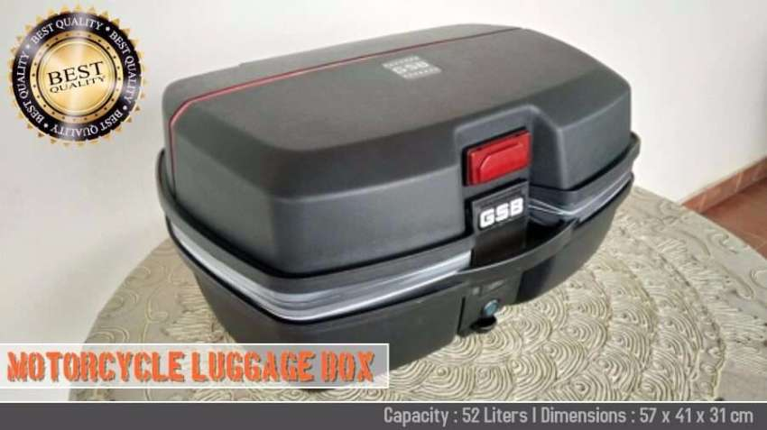 52 LİTERS Motorcycle Luggage Box - Suitable For All Motorcycles