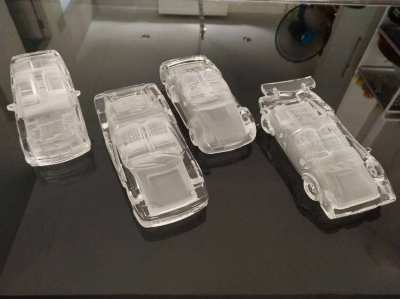 Hofbauer Glass Crystal Car Collection – Perfect Condition