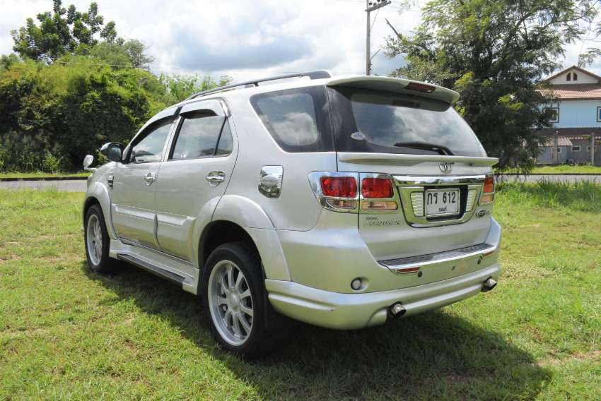 As new special Toyota Fortuner with many options.