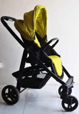 STROLLER GRACO EVO + CAR SEAT ADAPTER