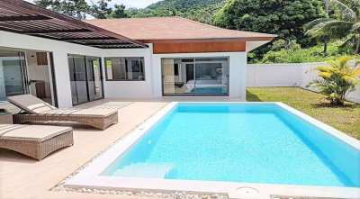 For sale 3 bedroom pool villa in Lamai Koh Samui