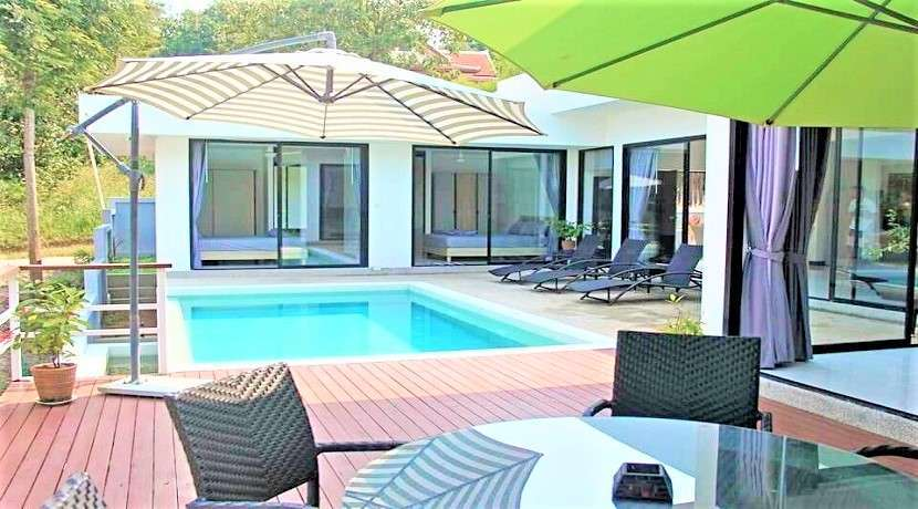 For sale villa 3 bedroom in Bangrak Koh Samui