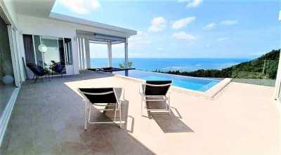 For sale villa 3 bedroom with sea view in Lamai Koh Samui