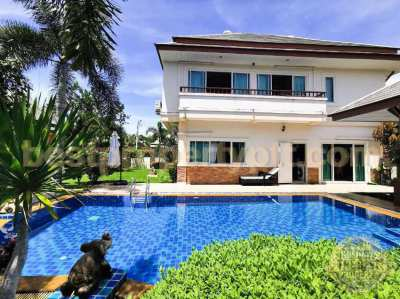Pool Villa on a large plot of land of 700 sq.m., Huay-yai