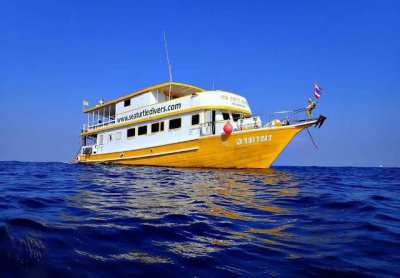 Traditionell Thaiwoodenboat for sale