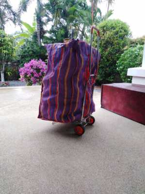 big bag with trolley 400 bath