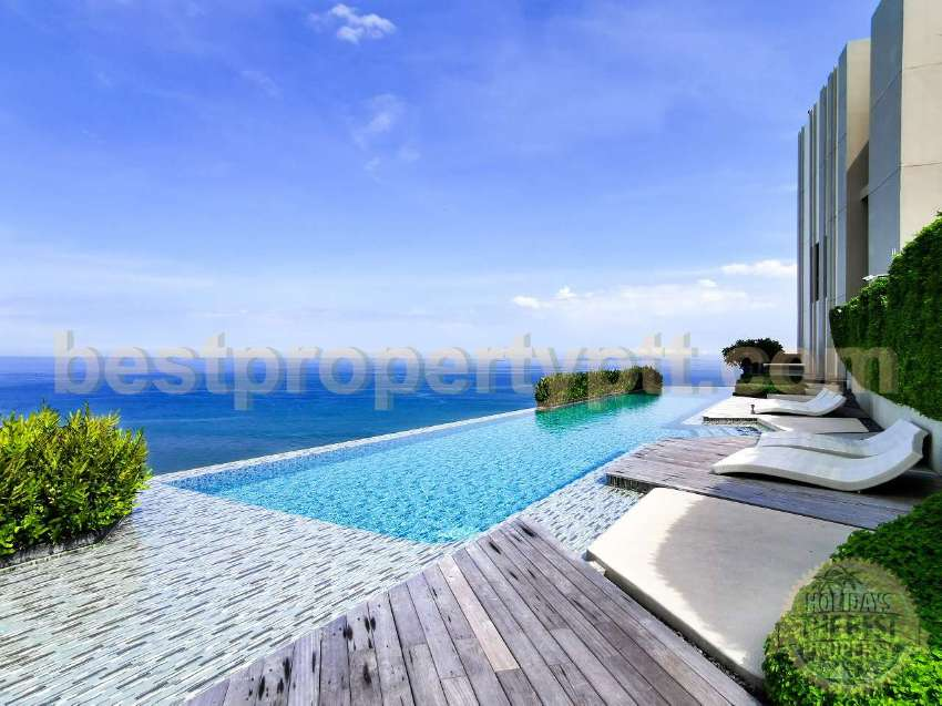 2-bedroom with Sea, pool and garden view, Naklua