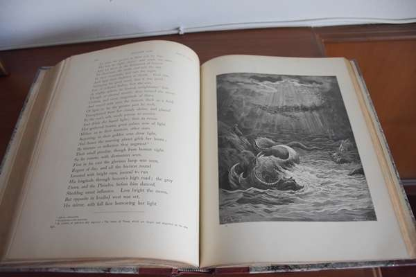 Price Drop! Rare 115 yr old Paradise Lost by Milton
