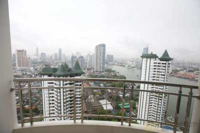 Supalai River Place Riverfront Condo Breathtaking River View Renovated
