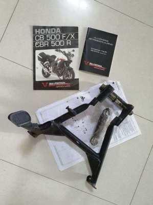 Honda CB 500 X - SW-Motech Center Stand