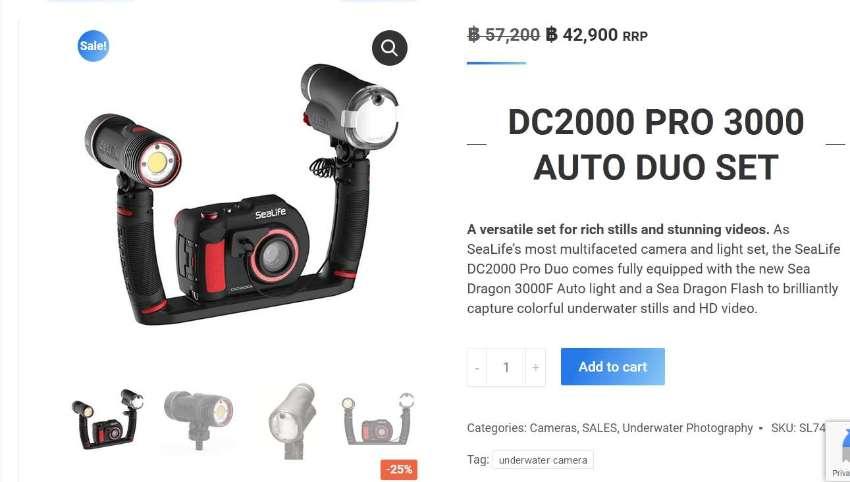 Sealife DC2000 Pro 3000 Duo