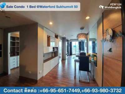 Sale with Tenant 1 Bed room at Waterford Sukhumvit 50