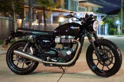 [ For Sale ] Triumph Street twin 2016 in  with only 4,xxx km