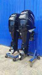 2 X 250 hp MERCURY 4 STROKE OUTBOARDS - EXCELLENT CONDITION