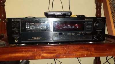 Pionner cassette deck 3 head