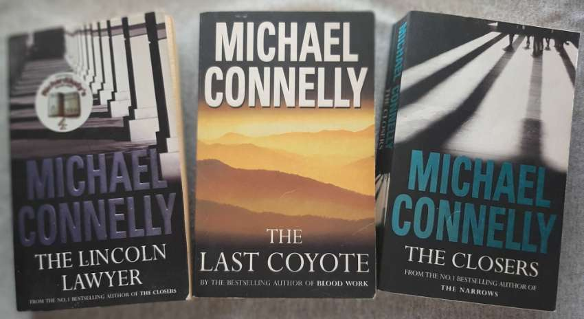 Michael Connelly - 2  featuring Harry Bosch, 1 featuring Mickey Haller