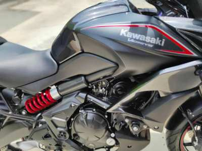 650cc Versys 2017 Only 600 klms! Showroom condition
