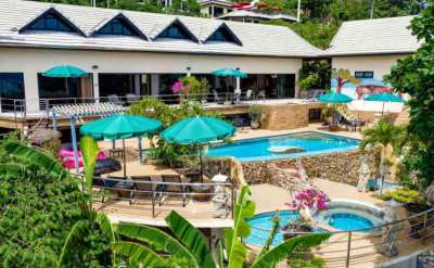Hotel with sea view for sale in Bophut, Koh Samui, Thailand