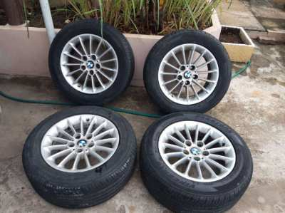 BMW e39 rims with tires