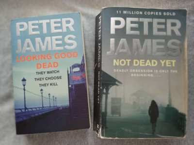 DS Roy Grace - 2 case stories from the pen of Peter James