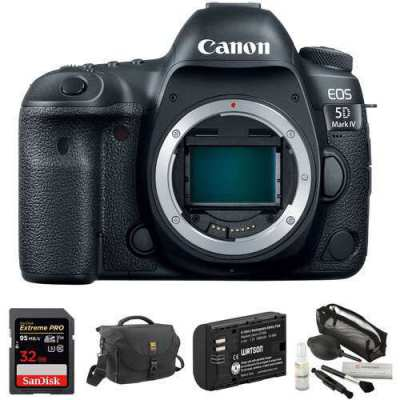 Bran New Canon EOS 5D Mark IV DSLR Camera Body with Accessory Kit