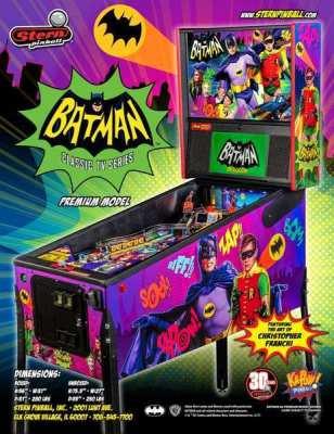 Batman '66 Stern pinball