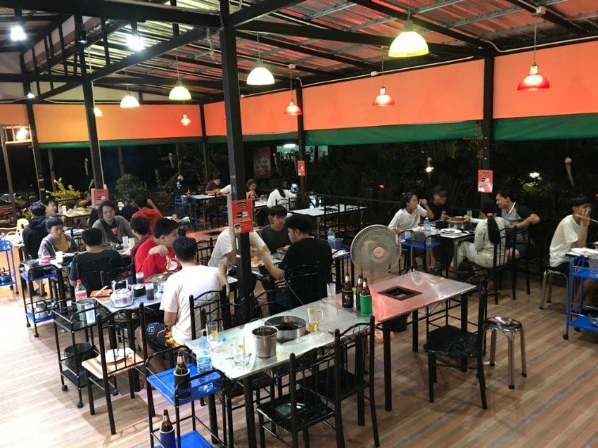 BBQ restaurant in Udon Thani sampraw district