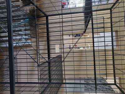 Large Cat/Pet Cage (Reduced price)