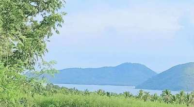 For sale sea view land in Taling Ngam Koh Samui - 6600 sqm