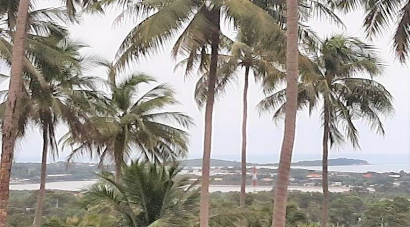 For sale sea view land in Chaweng Hill Koh Samui - 800 sqm to 1 rai