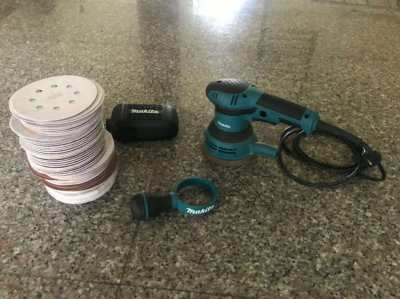 Makita Orbital Sander (model number BO5040)