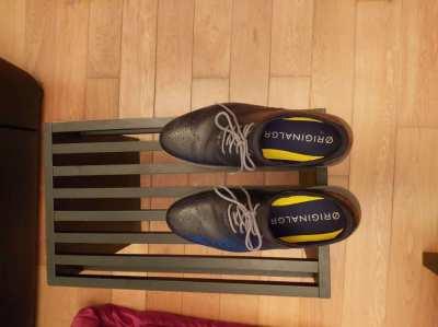 ØriginalGrand Wingtip Oxford Black 45 eu / 10.5 uk