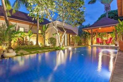 Luxury 3 bedr Pool Villa Rawai