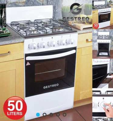 New 4 Ring Gas Cooker With Oven