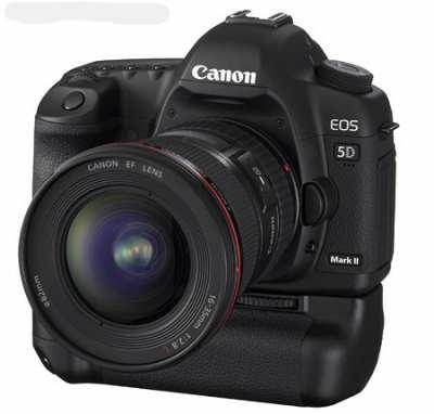 Canon EOS 5D Mark II (incl. battery grip BG-E6 / excl. lens)