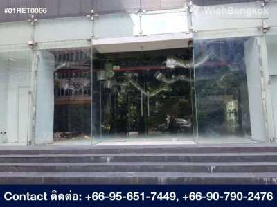 Retail Space for rent in Asoke 152 m2 , 260K / month
