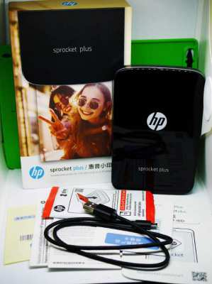 HP Sprocket Plus Document and Photo Printer from Mobile Phone
